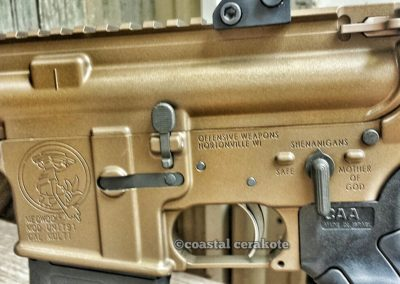AR15 Burnt Bronze 1