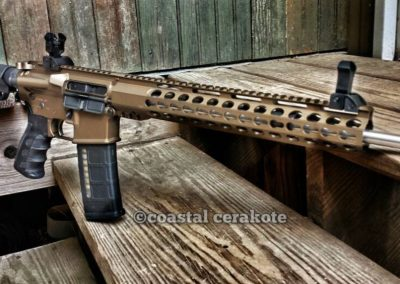 AR15 Burnt Bronze 2
