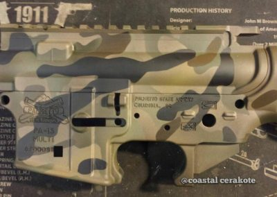 AR15 Multicam Cerakote Receivers 2