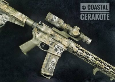 AR15 Pistol Vortex suppressor
