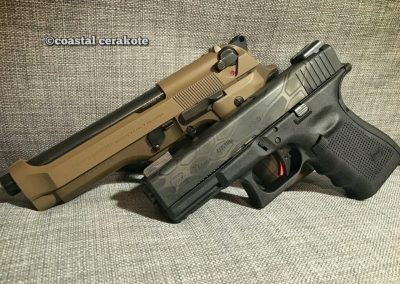 Beretta and Glock