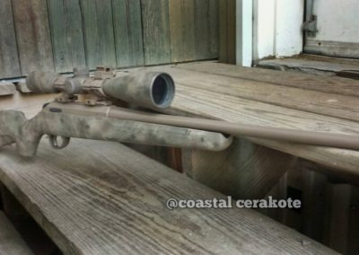 Cerakote scope deer rifle