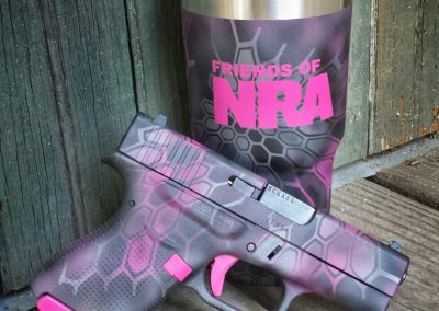 Glock 43 Friends of NRA pink