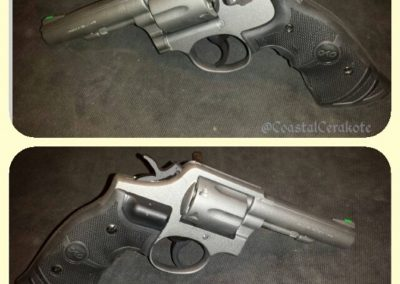 Smith & Wesson revolver Cerakote tungsten