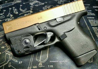 g43 Glock Burnt Bronze