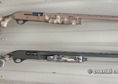 woodland camo shotguns