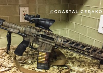 Shadow Camo Woodland AR15